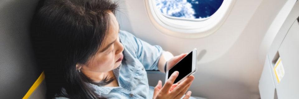 """Imagem ilustrativa para o post """"Como escolher o melhor assento no avião"""""""