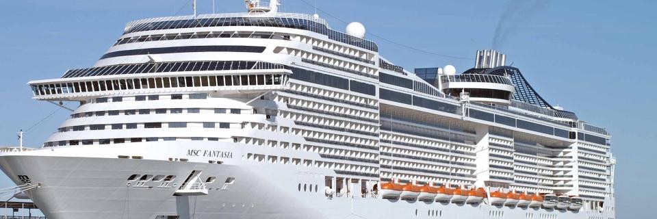 """Imagem ilustrativa para o post """"O MSC Splendida, maior navio da temporada, chega ao Brasil!"""""""