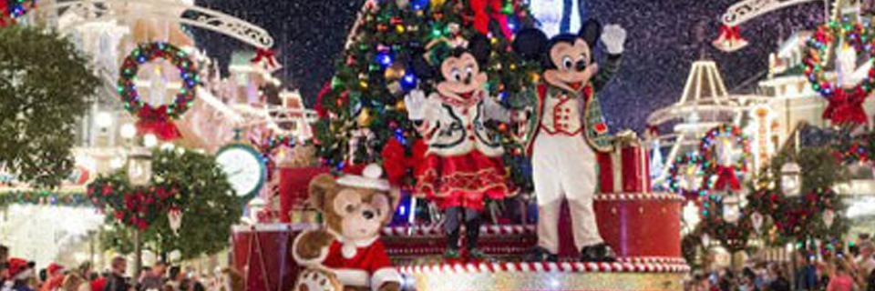 """Imagem ilustrativa para o post """"Magic Kingdom inicia celebrações de Natal em novembro"""""""