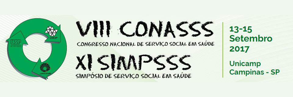 """Imagem ilustrativa para o post """"VIII Congresso Nacional de Serviço Social em Saúde (CONASSS) e o XI Simpósio de Serviço Social em Saúde (SIMPSSS)"""""""