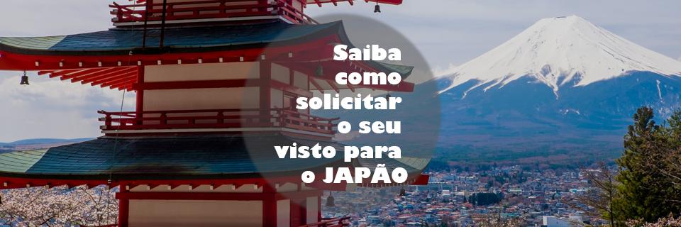 """Imagem ilustrativa para o post """"Saiba como solicitar o seu visto para o JAPÃO"""""""